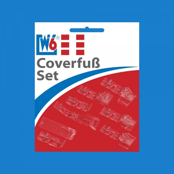 W6 Coverfuß Set (7-teilig)